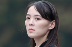Kim Jong Un's sister criticises US and South Korea for holding military exercises