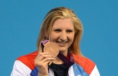 Adlington: Winning gold is not as easy as picking up a drink