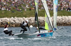 Winning start for Annalise Murphy while Irish 49er fourth in Weymouth