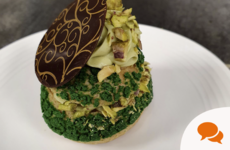 Patrick's Day Fare: Pastry chef Caitlin Lopes shares choux bun and lemon meringue recipes