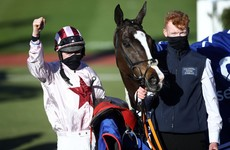 Black Tears edges thriller to give Denise 'Sneezy' Foster first Cheltenham winner