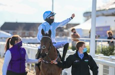Johnny Ward: Blackmore and Honeysuckle the picture of defiance as they haul racing off the canvas