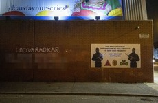 Police investigate latest graffiti threat to Leo Varadkar in Belfast