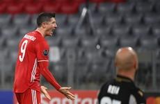 Holders Bayern down Lazio to stroll into Champions League quarter-finals