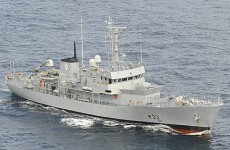 Naval service detain Irish fishing boat