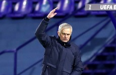 Mourinho concerned by attitude of Spurs players after Europa League exit