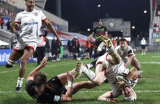 Zebre finish with 13 players as Ulster score seven tries in 46-point victory