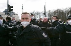 Police in Germany clash with protesters in rally against coronavirus measures