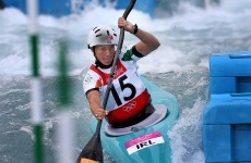 Hannah Craig paddles into canoe slalom semi-finals