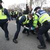 Gardaí make 11 arrests at anti-lockdown protest in Dublin