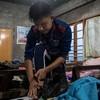 Police officers fleeing Myanmar seek asylum in India
