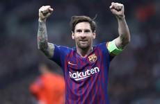 Messi on song as Barca thrash Sociedad