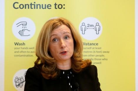 HPRA Chief Executive Dr Lorraine Nolan,
