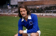 Former England striker Frank Worthington dies aged 72 after long illness