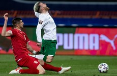 Committed Ireland start World Cup campaign with defeat in Serbia