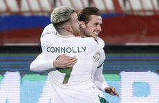 Here's the Alan Browne header that ended Ireland's long goalscoring drought