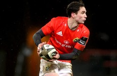 Carbery set to start for Munster as Ireland internationals return