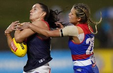 Dubs star Goldrick ruled out of AFLW Finals with hamstring injury
