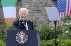 'They left because of what the Brits had been doing': Biden raises Irish ancestry in first press conference