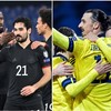 German players in 'human rights' message before Iceland victory and Zlatan sets up winner on Sweden return