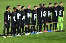 Fifa won't punish Germany for human rights protest aimed at Qatar