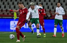Aaron Connolly ruled out of Ireland's World Cup qualifier with Luxembourg