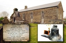 Historical bronze bell stolen from Kerry church
