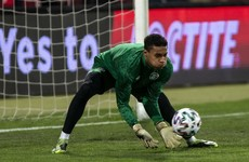 Ireland debut for 19-year-old goalkeeper Bazunu in World Cup qualifier against Luxembourg