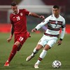Ronaldo goal for Portugal controversially ruled out in thrilling draw with Serbia