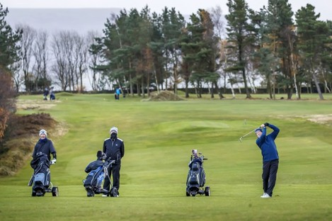Golf is among the activities permitted as England eases Covid restrictions