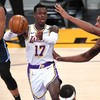 Injury-hit Lakers edge past Magic, Suns see off Hornets