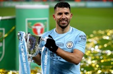 Man City's record goal-scorer Sergio Aguero to leave club this summer