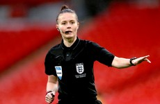 Rebecca Welch makes history by becoming first female referee appointed to English Football League match
