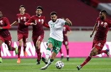 As it happened: Qatar v Ireland, International friendly
