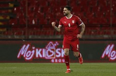 Mitrovic the hero again with two goals as Serbia grab late win over Azerbaijan