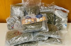 Man arrested after €328,000 worth of cannabis seized in Dublin