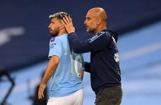 Departing Aguero is 'irreplaceable', admits Guardiola