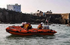 Exhausted swimmer rescued clinging to rocks near Dublin's Forty Foot