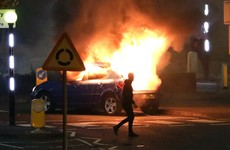 Man charged with riot as 30 petrol bombs thrown at police during night of loyalist unrest in Antrim