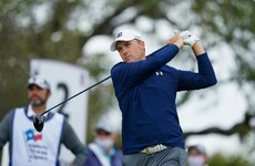 Spieth hits form on the eve of the Masters to share Texas Open lead