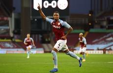 In-form Aston Villa defender targets England spot