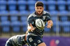 Vakh Abdaladze returns for Leinster after 18-month injury absence