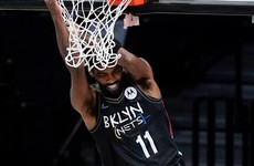 Brooklyn claim late victory over Knicks after losing James Harden early on