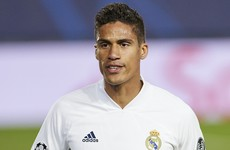 Real Madrid dealt late blow as positive Covid-19 test rules Varane out of Liverpool clash