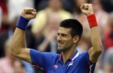 Tennis: Novak serves notice with supreme display