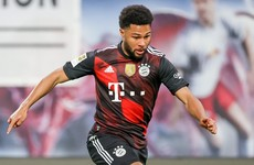 Bayern Munich star Gnabry out of PSG clash with Covid-19