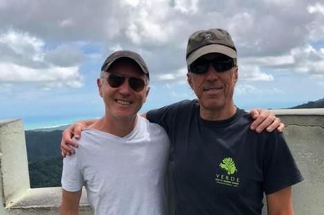John Doherty (left) and David Auerbach