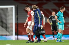 Arsenal's Kieran Tierney out for up to 6 weeks with knee injury