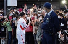 Olympic torch relay banned from public roads across Japan's Osaka region