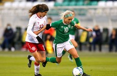 Ireland edged out by early Denmark goal but plenty of positives in Pauw's first friendly